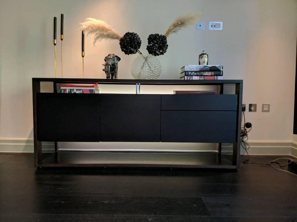 roche bobois glassbox sideboard in wimbledon london gumtree. Black Bedroom Furniture Sets. Home Design Ideas