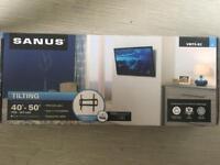 "Premium SANUS Tilting wall mount for TVs 40""-50"""