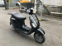 PIAGGIO VESPA S125cc jet black 2012 excellent runner hpi clear!!