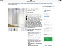 Shower enclosure screen