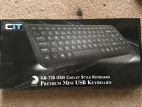 KB-738 USB Chiclet style keyboard