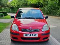 TOYOTA YARIS 1.0L T3 2004 5DOOR 1 OWNER MOT TILL8/3/2019 15 SERVICES HPI CLEAR EXCELLENT CONDITION