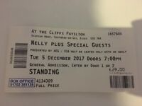 NELLY TICKETS, standing, Cliff Pavillion, Westcliff, Essex