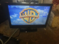 """for sale goodmans 23"""" hd lcd widescreen tv with freeview no remote £25"""