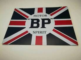 Metal sign BP Spirit, vintage style