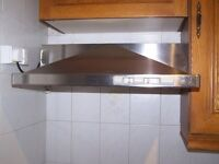 Wall Mounted Stainless Steel Cooker Extractor Fan