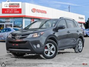 2015 Toyota RAV4 XLE Toyota Certified, One Owner, No Accident...