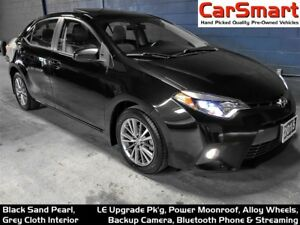 2015 Toyota Corolla LE + Upgrade Pkg, Sunroof, Alloy Wheels, Cam
