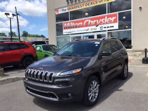 2017 Jeep Cherokee LIMITED 4X4 V6 LEATHER