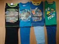 Bundle of Boy's Pyjamas 3 - 4 Years