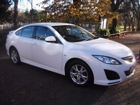 MAZDA 6 TS D 129 2.2 WHITE COLOR WHITE COLOR MOST WANTED COLOR OF THE YEAR ++ NEW SHAPE MINT CAR