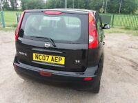NISSAN NOTE 1.4 SE (Black) Very clean, great drive car