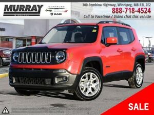 2017 Jeep Renegade North *4x4/Bluetooth/Accident free/Low kms*