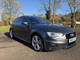 2013 Audi A3 sline 1.6 tdi low mileage.