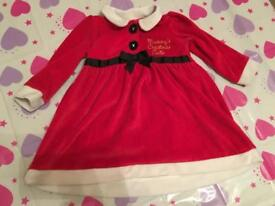 9-12 month Christmas Dress