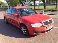 2006 Skoda superb 1.9 tdi , mot - 1 full year , only 81,000 miles , timing belt done ...