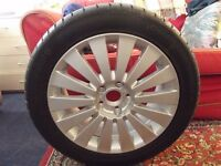 Volkswagen Passat Highline 07-10 Alloy wheel 17'' & brand new Continental tyre