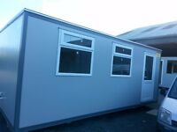 Variety of new portable cabins