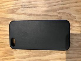 Apple case for iPhone 5/5s/SE dark blue leather case