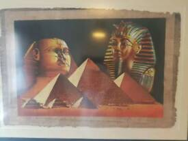 Egyptian framed wall picture