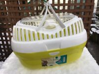 Pet carrier for rabbit or guinea pig