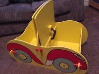 Noddy toy box - unusual, used condition