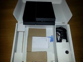 PlayStation PS4 console bundle complete with one controller.