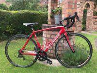 Specialized Tarmac SL2 Elite 20 speed full carbon 8.2kg road bike,54cm carbon frame,105 gears