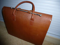 Leather Music Case. Tan colour. Hardly used.