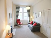 1 bedroom fully furnished first floor flat to rent on Comely Bank Row, Stockbridge, Edinburgh