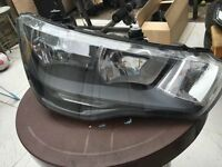 AUDI A1 2014 GINUINE DRIVER RIGHT SIDE HEADLIGHT 8X0 941 004 A