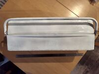 Expanding 5 tray Talco metal tool box (cantilever toolbox)