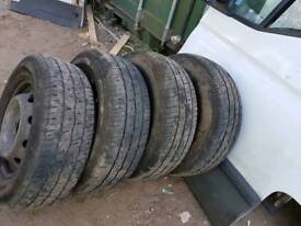 Iveco Daily spare tyre with rims