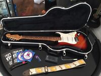 Fender Stratocaster (American), 3-Colour Sunburst, including Fender hard case