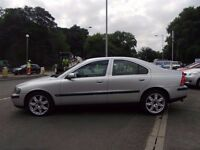 2001 Volvo S60 Manual Petrol (SATNAV) Saloon With 12 Month MOT PX Welcome
