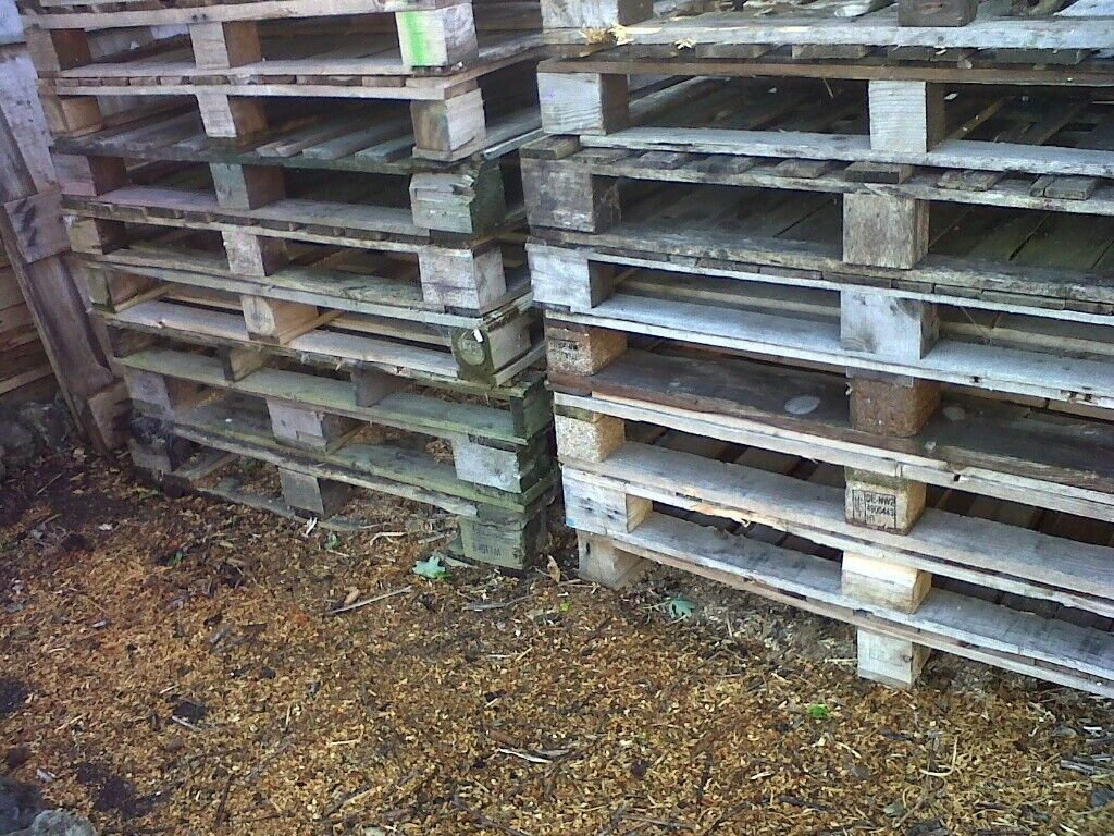 Wooden Pallets £1.50 each   in Kilwinning, North Ayrshire ...