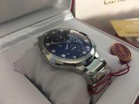 New Swiss Cartier Ballon Bleu Stainless Steel CHRONOGRAPH Watch