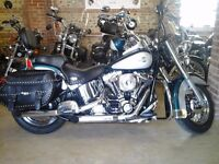 IMMACULATE 2004 HARLEY DAVIDSON HERITAGE SOFTAIL FUEL INJECTION 1450