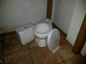 Brand new toilet full set