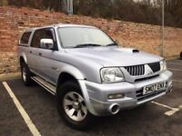 MITSUBISHI L200 4WD TROJAN PICKUP, DIESEL 12 MONTH MOT