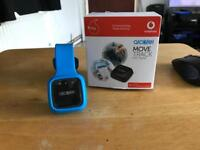 Alcatel Move track connected with a V-Sim by Vodafone