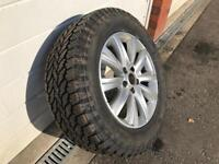"VW Amarok 18"" alloy with brand new a/t tyre"