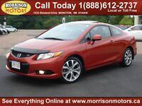2012 Honda Civic Si ($164 b/w on the road o.a.c.)