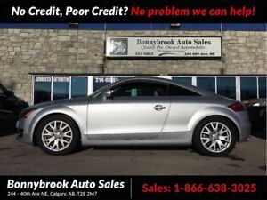 2008 Audi TT 3.2L AWD W/NAVIGATION LEATHER SEATS