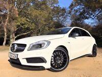 2015 Mercedes-Benz A45 AMG *Watch Video* + 2yr free service plan worth £1400 inc + 19s + Becker Nav