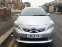 PCO CAR FOR HIRE RENT UBER READY TOYOTA PRIUS PLUS FROM £120