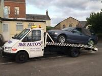 Recovery Truck Ford Transit Turbo Diesel Flat Bed With Winch
