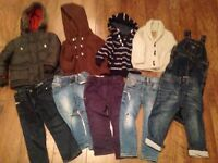 Boys bundle 10 piece bundle 18-24 months, Diesel, Zara, Next