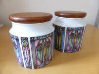 2 Dunoon Jars