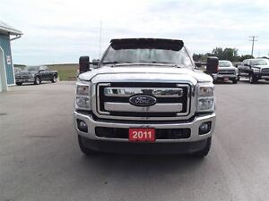 2011 Ford F-250 Lariat,4X4,LEATHER,WELL OILED LOCAL TRADE!! Kitchener / Waterloo Kitchener Area image 2